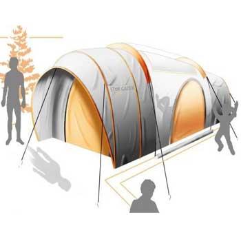 تحقیق طراحی چادر مسافرتی خورشیدی