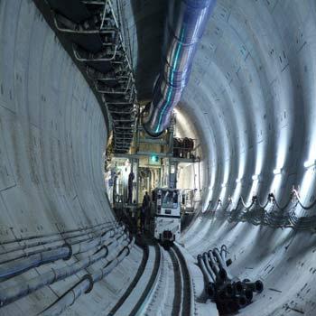 پارامتر مقاومتی تونل مترو در آزمایش پرسیومتری
