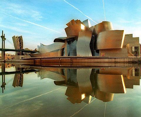 مدلسازی موزه-گوگنهایم-بیلبائو با اتوکد و 3dsmax