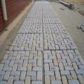 مرمت سنگ فرش در حال خراب با مواد بتن بازیافتی
