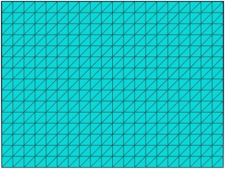 تحلیل ورق مستطیل شکل تابعی با متلب و آباکوس