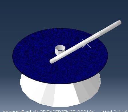 شبیه سازی فرایند شکلدهی چرخشی (spinning) با آباکوس