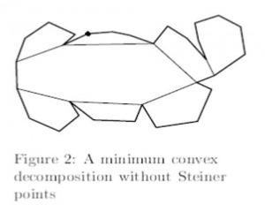 مقاله تجزیه چند ضلعی محدب ساده درزمان محدود