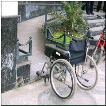پاورپوینت حقوق معلولین در شهرسازی