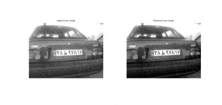 شبیه سازی حدف نویز از تصاویر باران توسط روش آستانه و فیلتر میانگذر با متلب