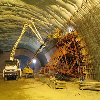 پاورپوینت قالب بندی تونل