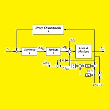 کنترل کننده PID بار-فرکانس سیستم قدرت IMC با متلب