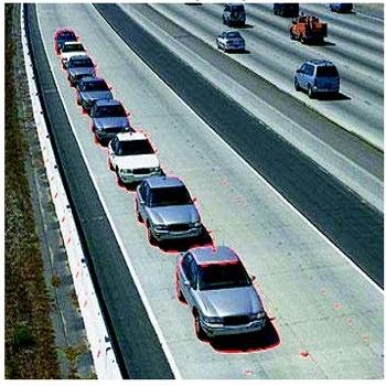 شبیه سازی مقاله الگوریتم شناسایی وسایل نقلیه با متلب