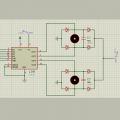 کنترل سرعت موتور DC با پروتئوس