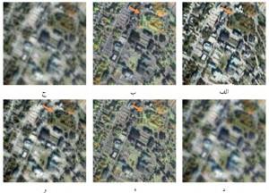 شبیه سازی مقاله پردازش تصویر افزایش وضوح مکانی تصاویر چند طیفی با متلب