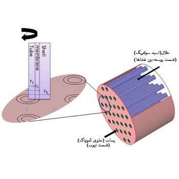 شبیه سازی فرآیند شیمیایی حذف آمونیاک از پساب با متلب