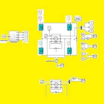 کنترل موتور DC در سیستم حلقه باز و بسته با متلب