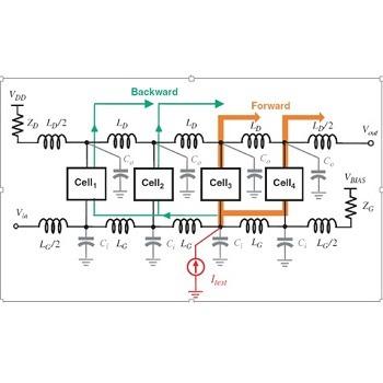 تقویت کننده سه طبقه و کم نویز در فرآیند CMOS با hspice
