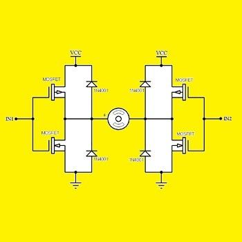تحقیق کنترل دور موتور DC به روش PWM