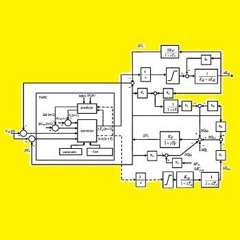 شبیه سازی مقاله کنترل توان برای پایداری ولتاژ سیستم قدرت هیبریدی بادی دیزلی با متلب