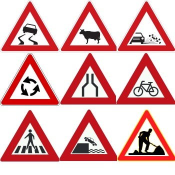 پردازش تصویر شناسایی تابلوهای راهنمایی رانندگی با متلب
