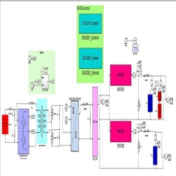 شبیه سازی مقاله حفاظت از اتصال کوتاه برای میکروگریدهای DC با ولتاژ پایین با متلب