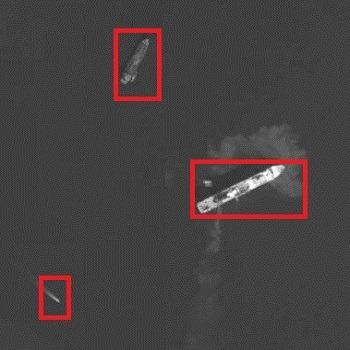 شبیه سازی مقاله تشخیص شناور در تصاویر ماهواره ای نوری به کمک مکانیزم جستجوی بصری با متلب