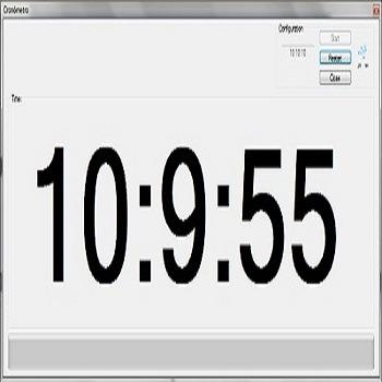 شبیه سازی کرنومتر به کمک وقفه تایمر شماره صفر به زبان C