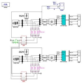 بررسی تاثیر کنترل کننده های dvr و idvr در توربین بادی سرعت متغیر با متلب