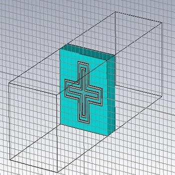 شبیه سازی مقاله طراحی و مقایسه عملکرد عناصر تشعشعی آنتن آرایه بازتابی با CST