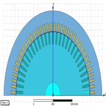 طراحی و شبیه سازی ژنراتور القایی با Maxwell