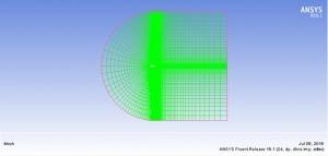 شبیه سازی جریان تراکم پذیر توربولانس اطراف ایرفویل naca0012 با فلوئنت