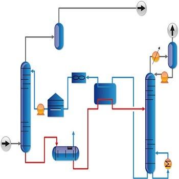 شبیه سازی مقاله حذف مرکاپتان از گاز طبیعی توسط جذب سطحی با متلب