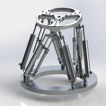 تحلیل دینامیک ربات استوارت با متلب