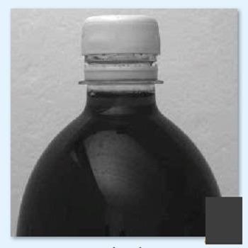 شبیه سازی چک کردن میزان پر بودن بطری های مایع در خط تولید کارخانه با متلب
