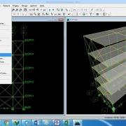 پروژه آماده طراحی و تحلیل استاتیکی و شبه دینامیکی یک ساختمان 5 طبقه با ETABS
