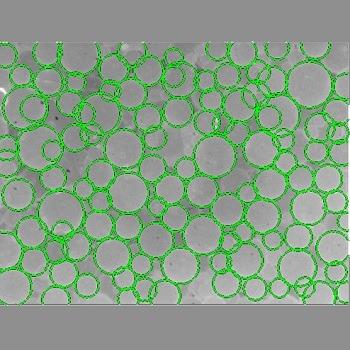 شبیه سازی تشخیص دایره در تصویر به کمک تبدیل هاف با متلب