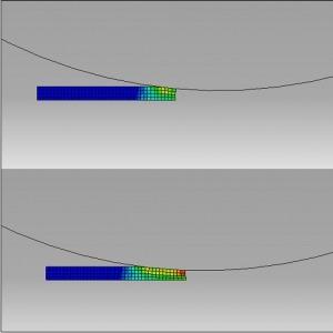 شبیه سازی نورد ورق سه لایه و بررسی تاثیر اصطکاک و تغییر ضخامت ورق با آباکوس
