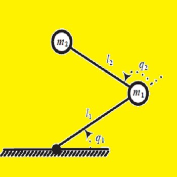 شبیه سازی معادلات حرکت و گشتاور ربات با متلب