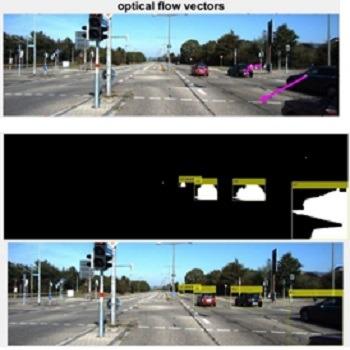 شبیه سازی تشخیص و ردیابی اشیا در تصاویر ویدئویی با استفاده از ترکیب روش فیلتر کالمن و الگوریتم جریان نوری با متلب