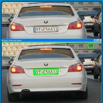 تحقیق ارزیابی روش های تشخیص محل پلاک خودرو با پردازش تصویر