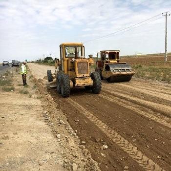 پروژه آماده راهسازی توپوگرافی منطقه شاندیز مشهد