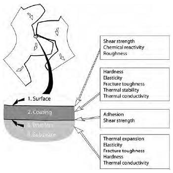 تحقیق رشد و توسعه ترک از پوشش به ماده