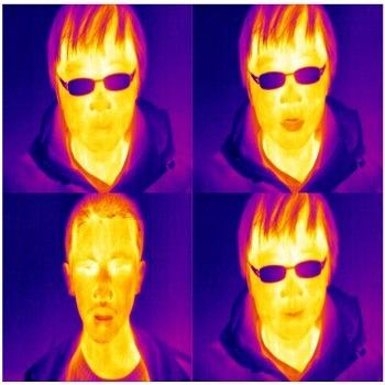 شبیه سازی تشخیص و تطبیق تصاویر حرارتی چهره با متلب