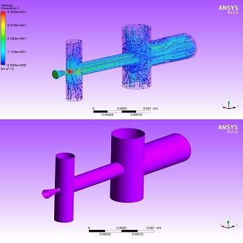 شبیه سازی و مدلسازی میکرو اجکتور چند مرحله ای با فلوئنت