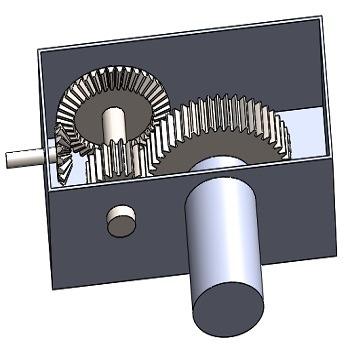 تحقیق محاسبات و طراحی جعبه دنده دو مرحله ای