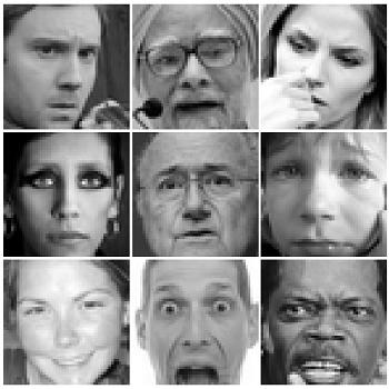 شبیه سازی طبقه بندی تصاویر چهره با استفاده از دیتاست kaggle با متلب