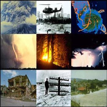 تحقیق بررسی بلایای طبیعی از طریق تفسیر تصاویر ماهواره ای و عکس های هوایی
