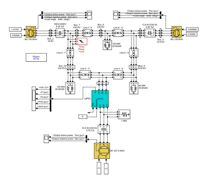 شبیه سازی فازی کنترل کننده UPFC برای بهبود پایداری گذرا با متلب
