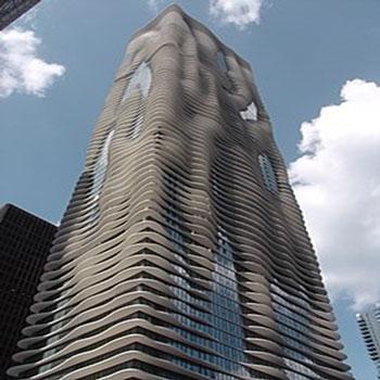 پاورپوینت برج آکوا - شیکاگو Aqua Tower