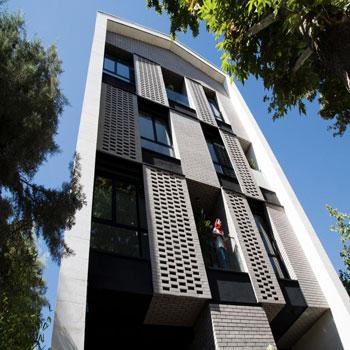 پاورپوینت ساختمان مسکونی 106 مهرشهر کرج