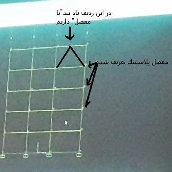 پروژه بهسازی لرزه ای قاب دو بعدی فولادی با SAP