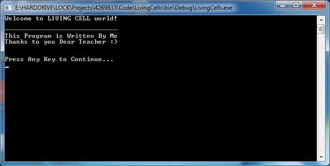 پروژه برنامه نویسی بازی زندگی یکنواخت و خسته کننده چند تک سلولی به زبان سی C