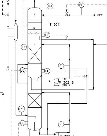 شبیهسازی برج کاستیک برای حذف همزمان H2S و CO2 از گاز کراکینگ با نرمافزار هایسیس
