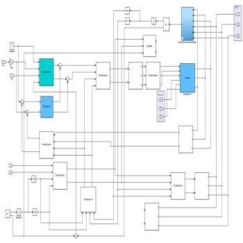 پروژه شبیه سازی یک سیستم ژنراتور القایی - توربین بادی با متلب